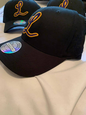 Los Angeles Lakers Team Letter Low Pro 110 SnapBack - Ameri-Camden