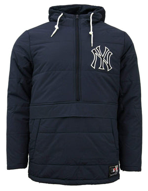 Majestic Juupa Padded New York Yankees Hooded Jacket - Ameri-Camden