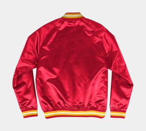 Mitchell and Ness Lightweight Satin Jacket Houston Rockets - Ameri-Camden