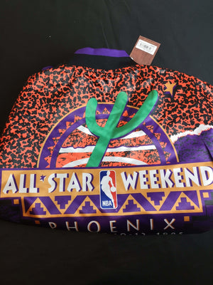 Mitchell & Ness NBA All Star Satin Jacket - Ameri-Camden