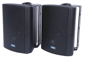 "ASP60 - 5"" Outdoor Weather-Resistant Patio Speakers with 70v Switch (Pair)"