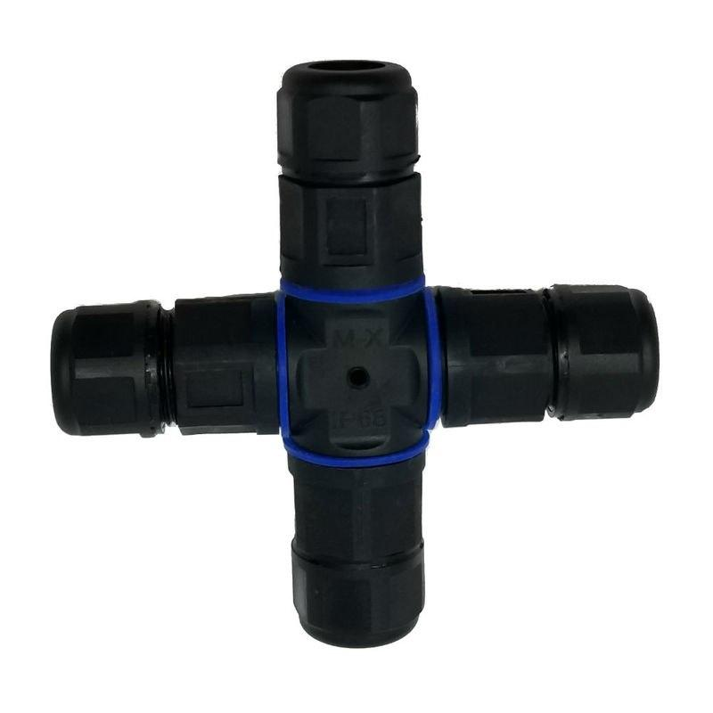 SPC-CN4 - 4-Way Outdoor Waterproof 4-Core Wire Connector