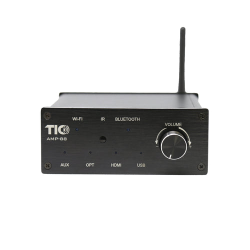 TIC AMP88 - Amplificateur Wifi Airplay2 Bluetooth5 2x50W