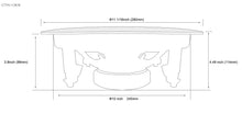"Load image into Gallery viewer, TIC C8O8 - Outdoor Ceiling Speakers 8Ω 8"" (pair)"