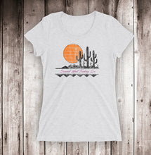 Load image into Gallery viewer, 80's Sun Ladies Short Sleeve Tee