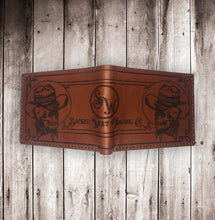 Load image into Gallery viewer, Sacred West Custom Leather Billfold Wallet