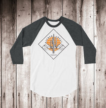 Load image into Gallery viewer, Desert Diamond 3/4 Sleeve Raglan Shirt Unisex