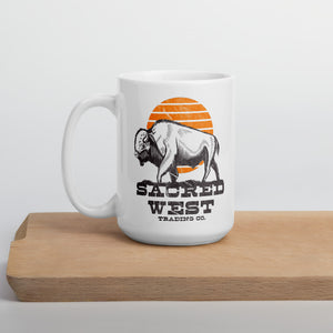 Buffalo Tracks Porcelain Mug