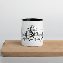 Load image into Gallery viewer, Cowboy Kinda' Morning Mug with Color Inside
