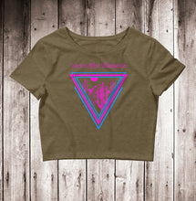 Load image into Gallery viewer, Neon Desert Women's Crop Tee