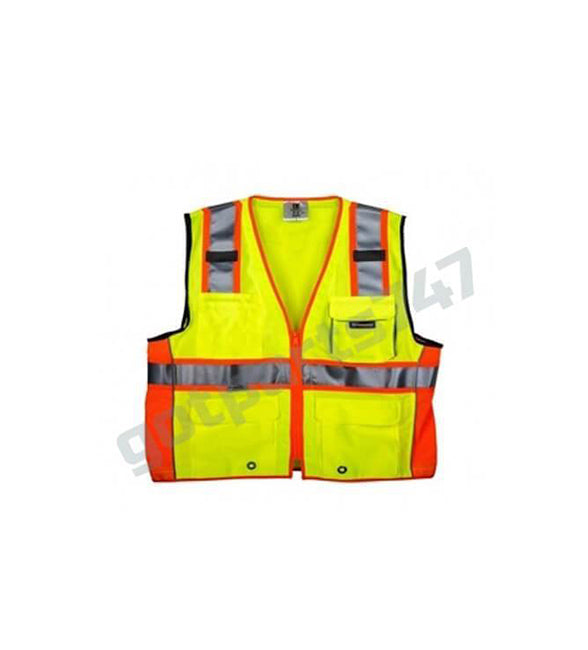 High Visibility Safety Vest [Neon Yellow]