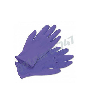 Purple Exam Gloves