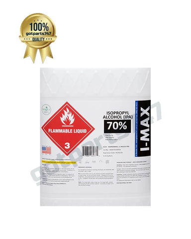 Isopropyl Alcohol - IPA 70% (5 Gallon)