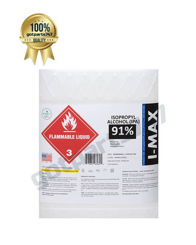 Image of Isopropyl Alcohol - IPA 91% (5 Gallon)