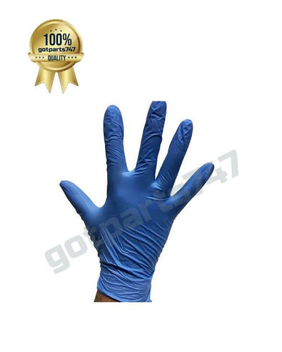 Blue Nitrile Gloves image 3