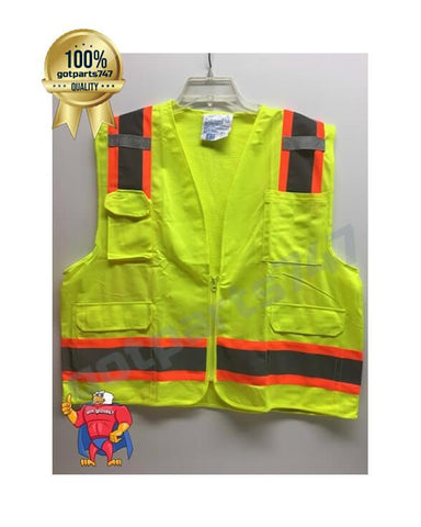 Image of High Visibility Safety Vest [Neon Yellow]