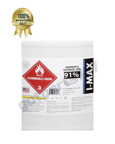 Image of Isopropyl Alcohol - IPA 91% (55 Gallon Drum)