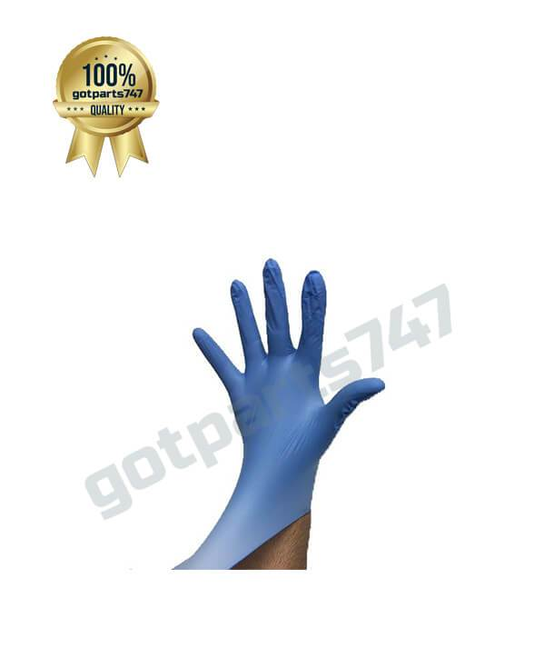 Blue Nitrile Gloves image 2