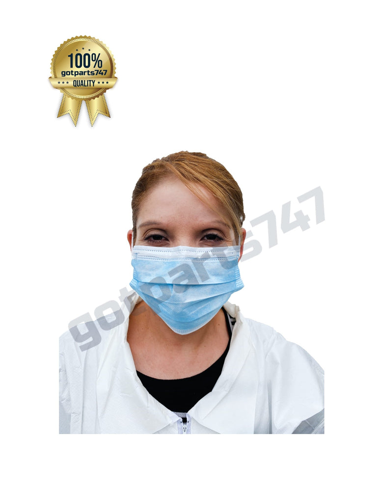 3-Ply Surgical Masks (50/cs)