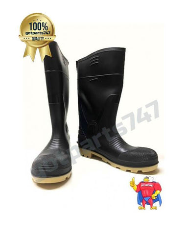 Image of Plain Toe Rubber Boots