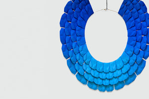 RADIAN design and Lynne MacLachlan teamed up to create a modern statement necklace.