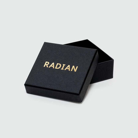 Black box for stud earrings by RADIAN.
