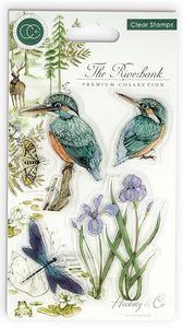 Craft Consortium - Clear Stamps - Kingfisher