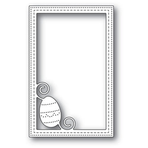 Poppystamps - Decorated Egg Stitched Frame