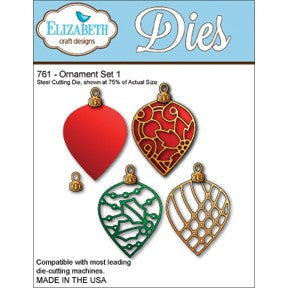 Elizabeth Craft Design - Ornament Set 1