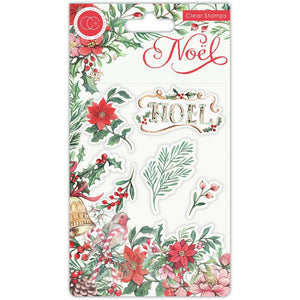 Craft Consortium - Clear Stamps - Flora