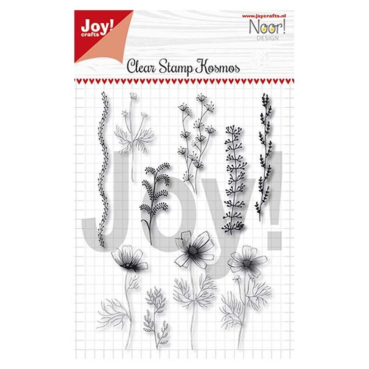 Joy! Crafts - Clear Stamps - Condolences Cosmos Flowers