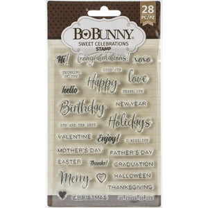 BoBunny - Stamps - Celebration