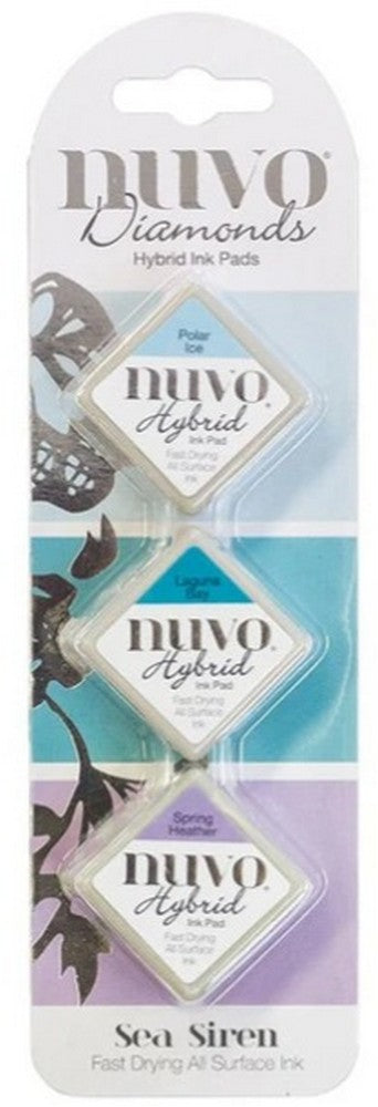 Nuvo Diamond Hybrid Ink Pads - Sea Siren