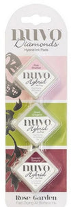 Nuvo Diamond Hybrid Ink Pads - Rose Garden