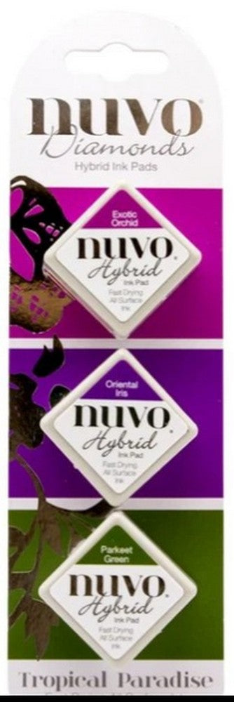 Nuvo Diamond Hybrid Ink Pads - Tropical Paradise