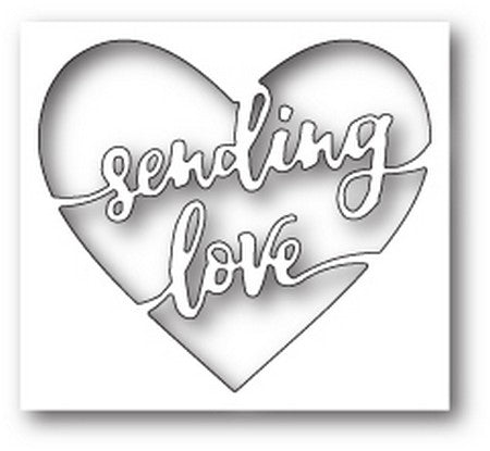 Memory Box - Sending Love Heart