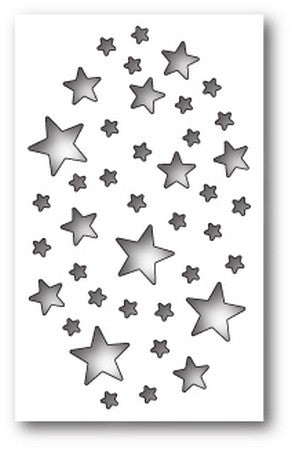 Memory Box - Shimmer Star Collage