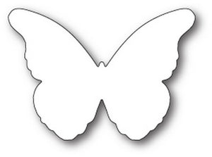 Memory Box - Chantilly Butterfly Background