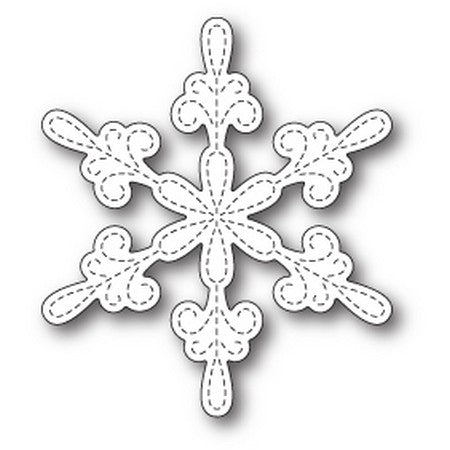 Memory Box - Chancery Snowflake Outline