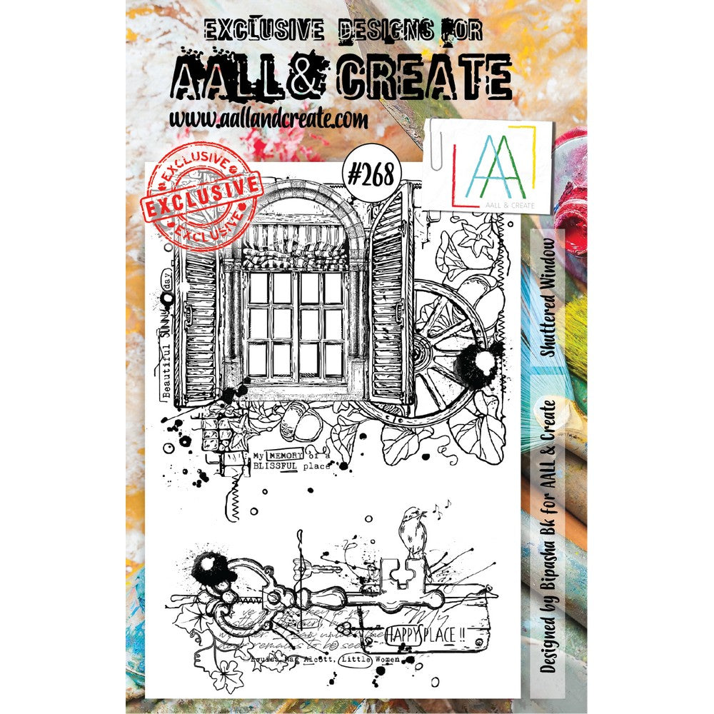 AALL & Create - Stamps - Shuttered Window #268