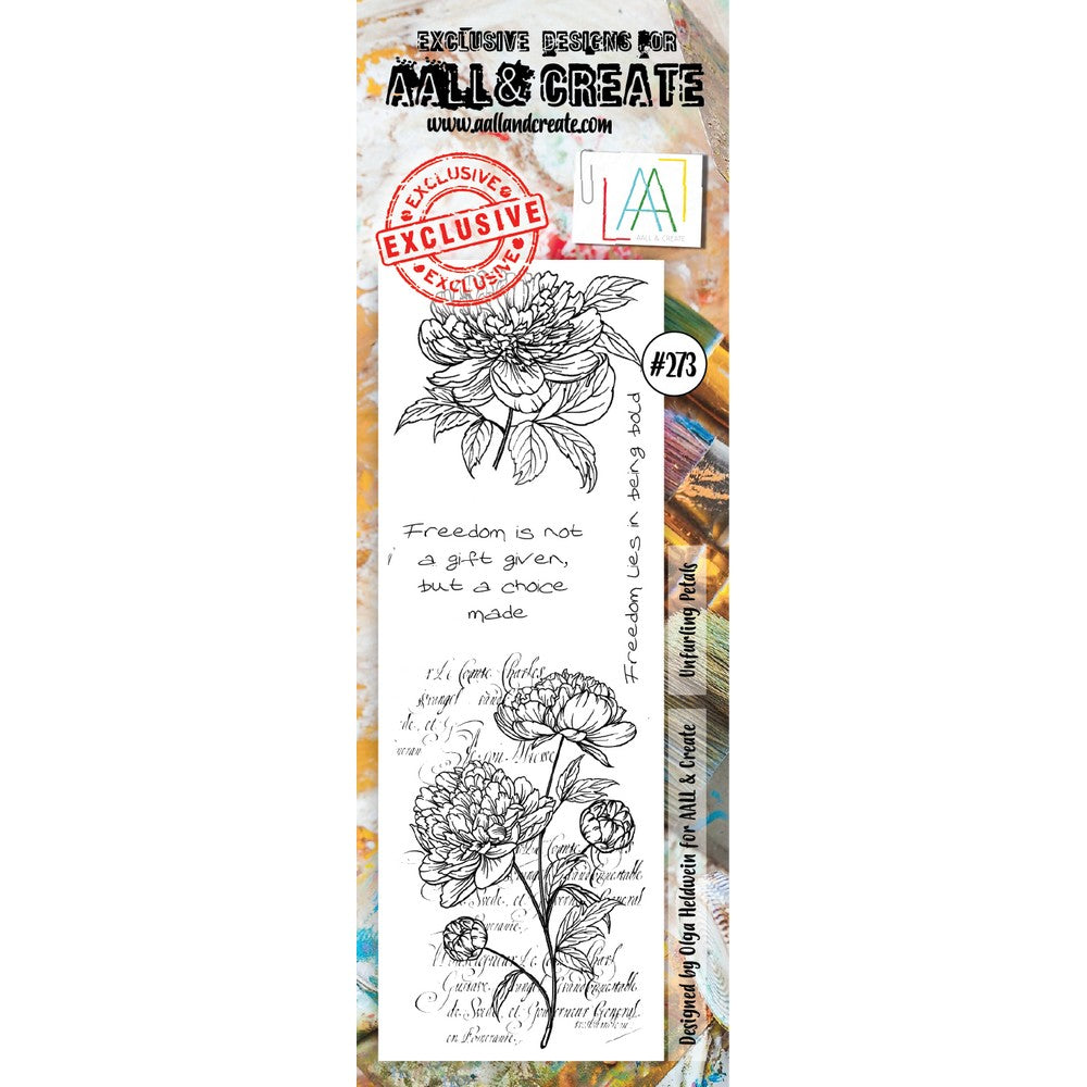 AALL & Create - Stamps - Unfurling Petals #273