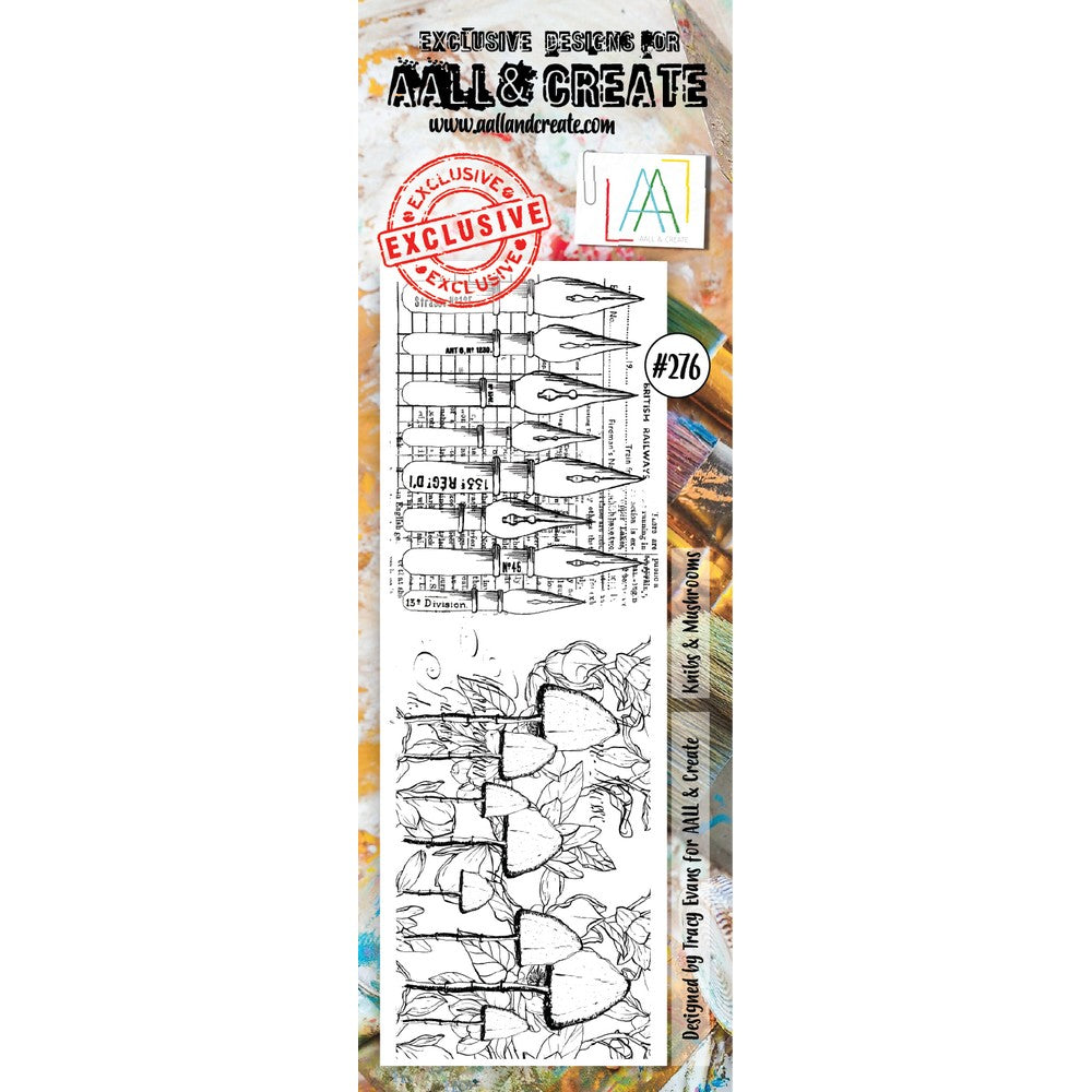 AALL & Create - Stamps - Knibs & Mushrooms #276