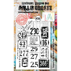 AALL & Create - Stamps - Enumerated #280