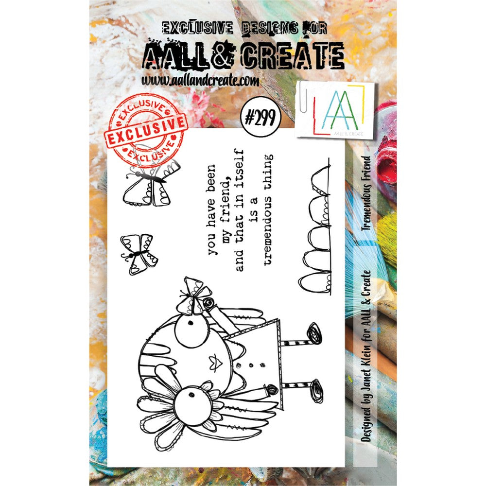 AALL & Create - Stamps - Tremendous Friend #299