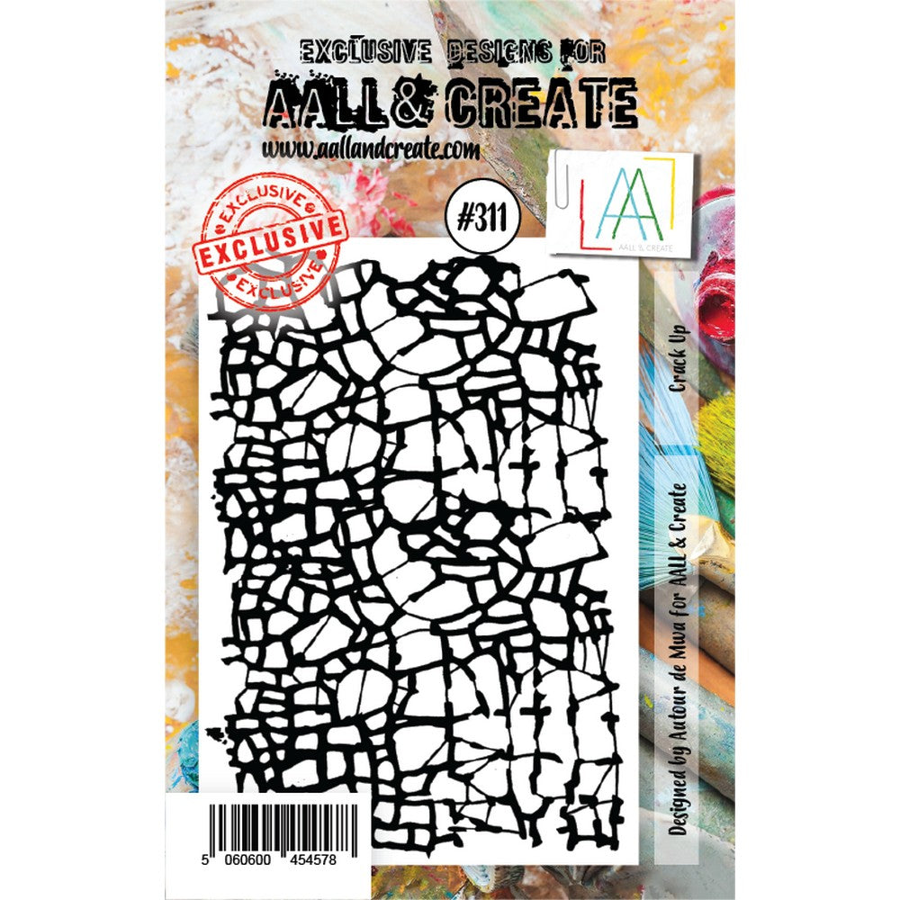 AALL & Create - Stamps - Crack Up #311