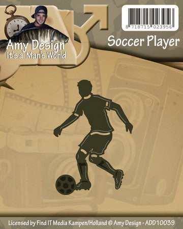 Amy Design - Soccer Player