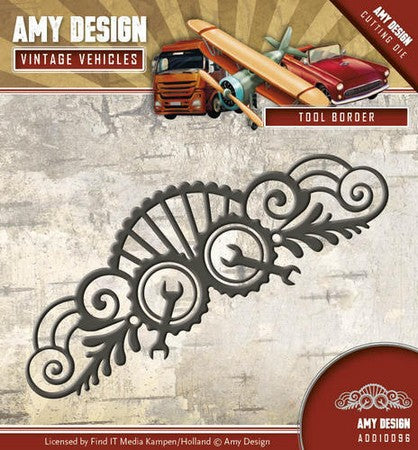 Amy Design - Vintage Vehicles - Tool Border