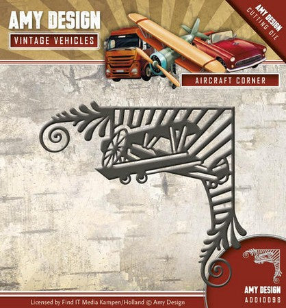 Amy Design - Vintage Vehicles - Aircraft Corner