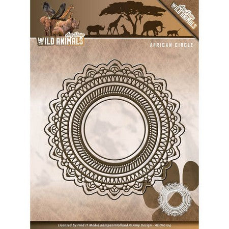 Amy Design - Wild Animals - African Circle