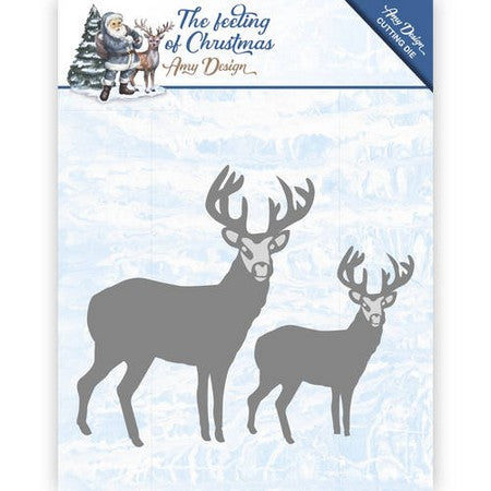 Amy Design - The Feeling Of Chirstmas - Christmas Reindeers
